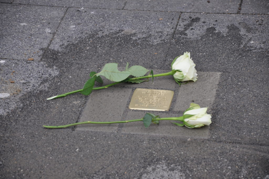 Stolperstein für Fritz Moses (Bild: Dr. Holger Dux)